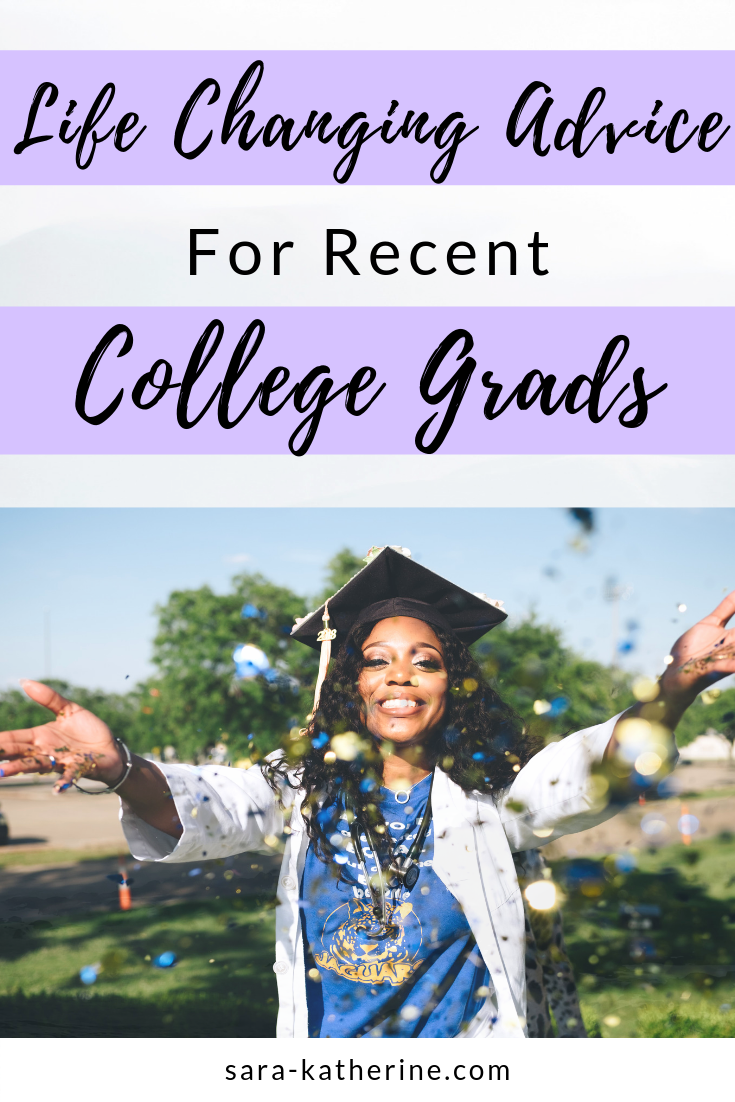Graduating college is scary, but after a few years into the full-time corporate adulting lifestyle, Kristin from The Sophisticated Gal has provided 5 important pieces of advice she would have given herself as a recent college grad. Career tips, networking, and more. - Sara Katherine