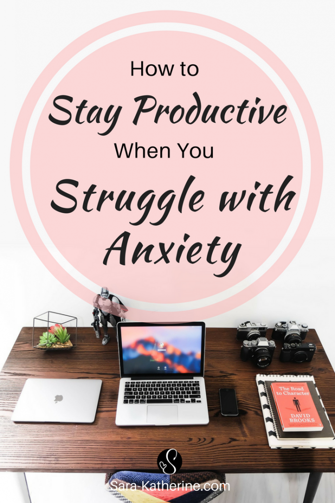 Adulting is already hard, but having anxiety while you need to stay productive with your work and life makes it even harder. Here are five small steps you can take to stay productive when you struggle with anxiety.