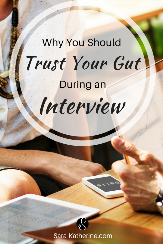 Feeling unsure about a company you're interviewing for? Your intuition is often right about a job interview. This happened to me earlier this year, when I had a gut feeling a job wasn't right for me, and the interview proved that my gut feeling was correct! Watch my latest video to learn more.