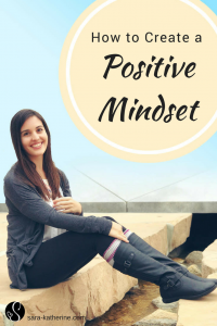 My latest video teaches you ways to create a more positive mindset. Whether you're experiencing depression, feel like the world won't give you a break, or just notice that it's time for a mindset shift, practicing these tips can help you achieve more regularly positive outlooks on life.