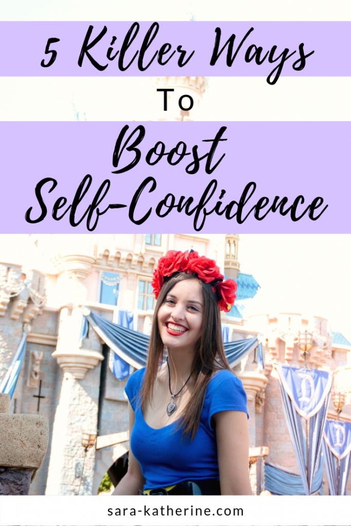 5 areas of your life you can focus on to boost your self-confidence and self-esteem. Self-confidence is an ongoing journey, and this is how to get started!