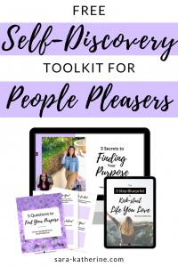 Free Self-Discovery Toolkit for People Pleasers - Click to Unlock and Get Access!